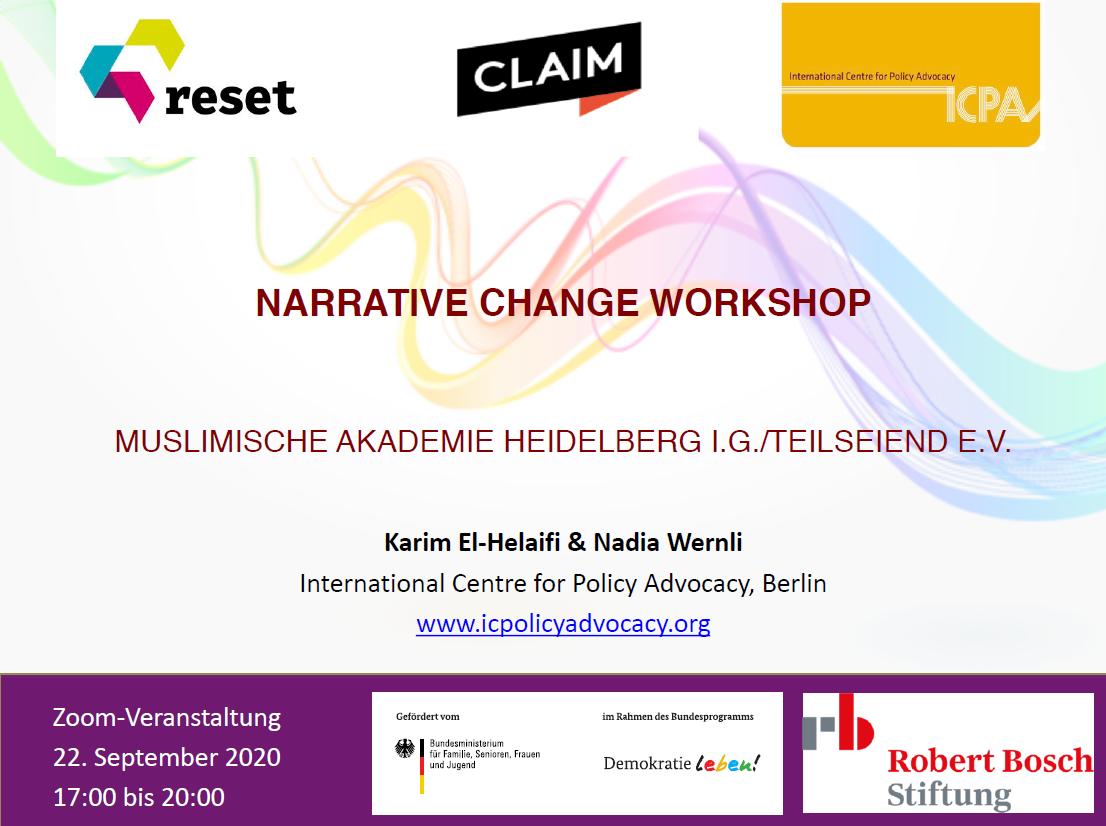 Narrative Change Workshop